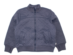 Wheat thermosjacket Manfred dark blue with fleece lining