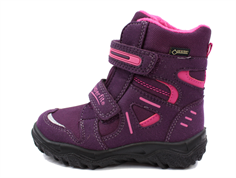 Superfit Husky winter boot eggplant combining with GORE-TEX