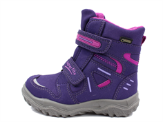 Superfit Husky winter boot raisin/purple combination with GORE-TEX