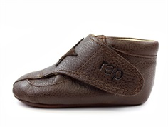 Arauto RAP slippers dark brown with star