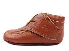 Arauto RAP slippers cognac with an asterisk (narrow)