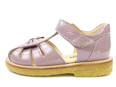 Angulus sandal dusty fuxia with bow