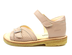 Angulus sandal make-up with buckle