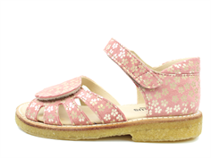 Angulus sandal coral flower with velcro