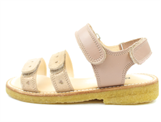Angulus sandal rose copper with hearts
