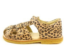 Arauto RAP sandal leopard with buckles and velcro