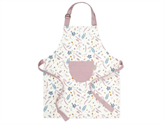 Cam Cam apron kids pressed leaves