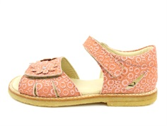 Arauto RAP sandal pink nufs with flowers