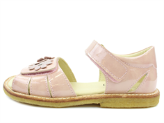 Arauto RAP sandal pat nude with flowers