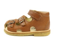 Arauto RAP sandal cognac with buckles and velcro