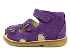 Arauto RAP sandal nob purple with buckles and velcro