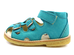Arauto RAP sandal nob. Turquoise with buckles and velcro (narrow)