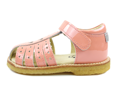 Arauto RAP sandal pat pink with hearts