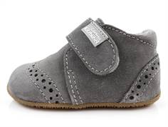 Living Kitzbühel slippers gray suede