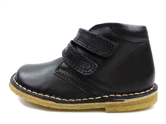 Bisgaard desert boot black with velcro