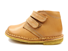 Bisgaard desert boot cognac with velcro