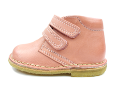 Bisgaard desert boot peach with velcro