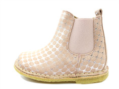 Bisgaard ancle boot rose dots with elastic