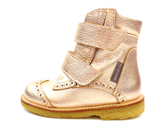 Angulus winter boot rose copper TEX with the hole pattern (narrow)