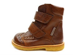 Angulus winter boot cognac with TEX