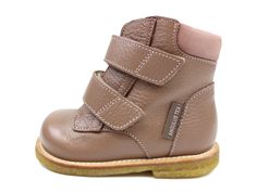 Angulus winter boots dusty rose brown with TEX