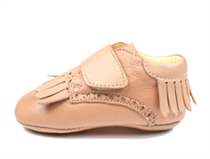 Angulus slippers dusty peach with fringes
