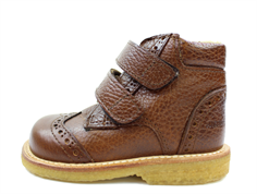 Angulus boot cognac with woollining