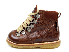 Angulus winter boot redbrown with TEX