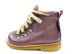 Angulus winter boot lavender shine with TEX