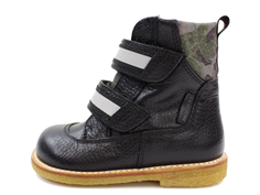 Angulus winter boot black/army reflex with TEX