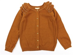 En Fant cardigan leather brown