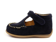 Bisgaard shoes navy suede