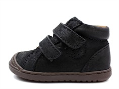 Bisgaard toddler shoe black with velcro