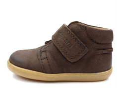 Bisgaard toddler shoe brown with velcro