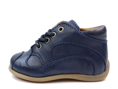 Bisgaard toddler shoe blue with laces