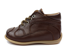 Bisgaard toddler shoe brown with laces