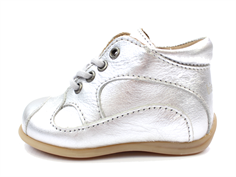 Bisgaard toddler shoe silver with laces