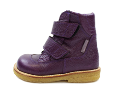 Angulus winter boot purple with TEX