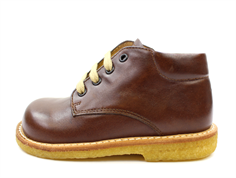 Angulus toddler shoe brown with laces