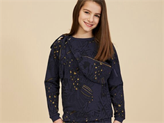 Soft Gallery sweatshirt Signe outer space wings