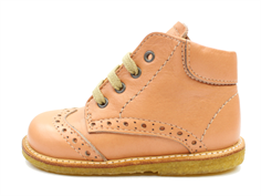 Angulus toddler shoe dusty peach with laces