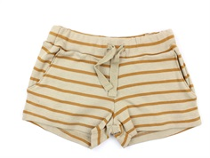 Wheat shorts almond stripes