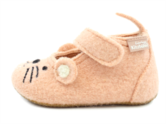 Living Kitzbühel slippers rose cloud with mouse