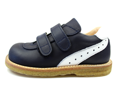 Angulus shoes dark blue/white with Velcro
