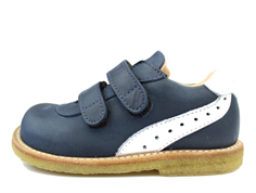 Angulus shoes blue/white with velcro