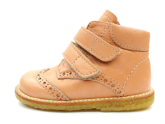 Angulus toddler shoe dusty peach with velcro