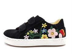 Angulus sneaker black with flowers