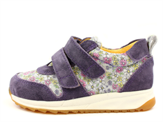 Angulus sneaker purple multi flower
