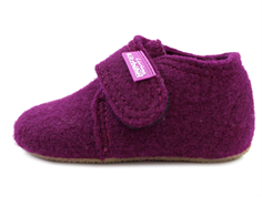 Living Kitzbühel slippers dahlia wool