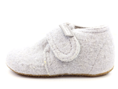 Living Kitzbühel slippers hellgrau wool